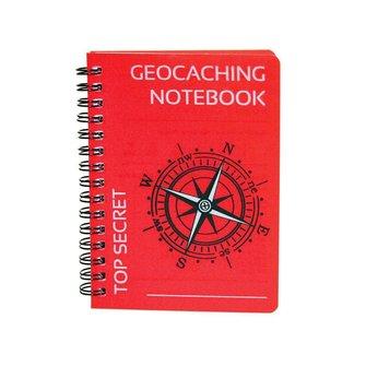 CacheQuarter Spiraal geocaching logboek regular - A6 formaat rood