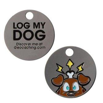 Groundspeak Travel 'Log-my-Dog' Tag