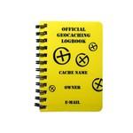 CacheQuarter Spiraal logboek regular - A7 geel