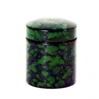 CacheQuarter Nano container - magnetisch (camouflage groen)