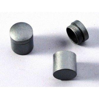CacheQuarter Nano container - magnetisch (zilver)