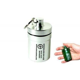 CacheQuarter Small container - ALCON (zilver)