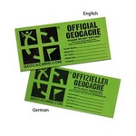Groundspeak Cache label - large