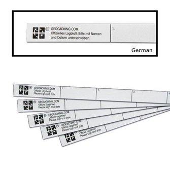 Groundspeak Logstrip nano/micro (35 logs)
