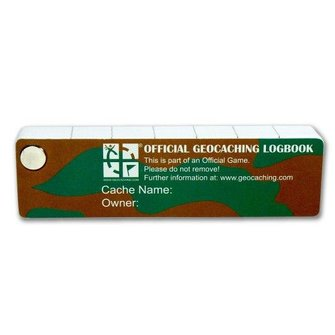 CacheQuarter ECO Logboek PETling XL (1300 logs)