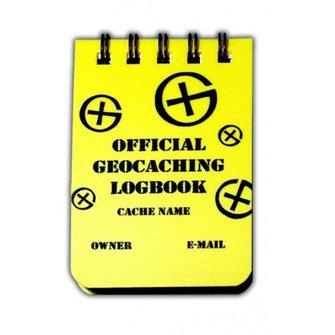 CacheQuarter Spiraal small logboek - A8 formaat