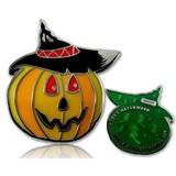 CacheQuarter Halloween pompoen LE - groen