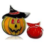 CacheQuarter Halloween pompoen LE - rood