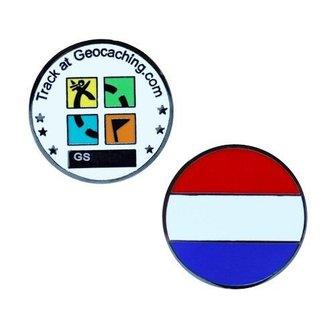 Oakcoins Micro coin vlag Nederland