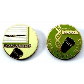 CacheQuarter Micro coin: Seek a micro - goud