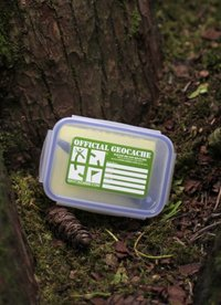 Small geocache containers