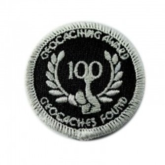 CacheQuarter Geo-Prestatie patch - zilver