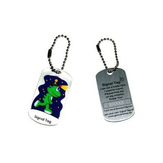 CacheQuarter Trackable tag Signal the Frog - Night cacher