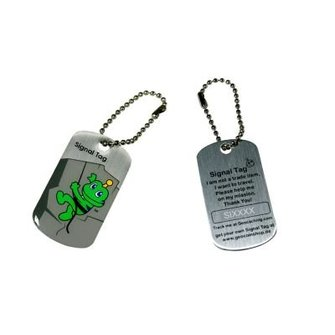 CacheQuarter Trackable tag Signal the Frog - T5 cacher