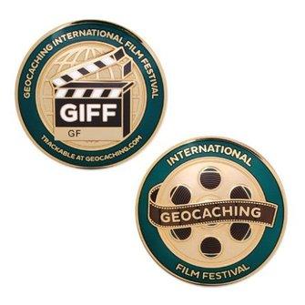 Groundspeak Geocoin International Geocaching Film Festival