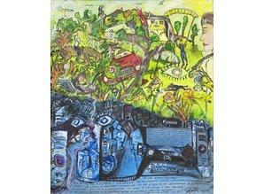 Tony Caulfield Kunstdruck auf Leinwand/Keilrahmen