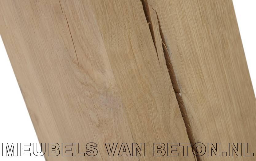 Eiken onderstel Oak 220 x 100cm