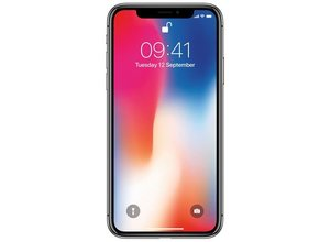 Apple iPhone X 256GB Zwart