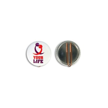 Clip Button 37 mm rond