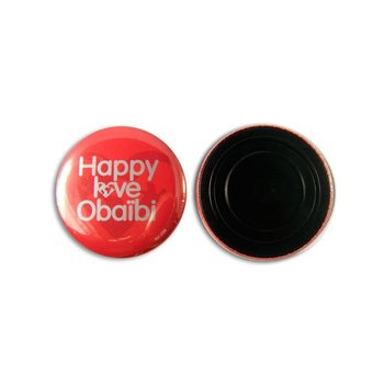 Koelkastmagneet Button 56 mm