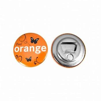 Flesopener Button 56 mm