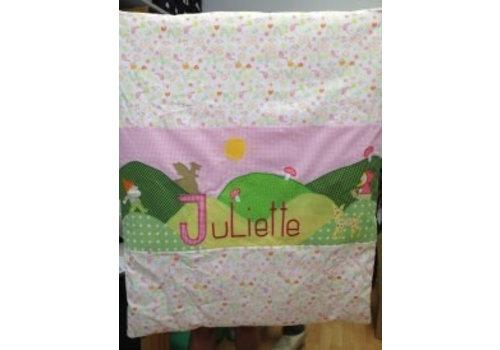 crêpes suzette crêpes suzette Krabbeldecke mit Namen bestickt Sondermodell Juliette - nur online erhältlich