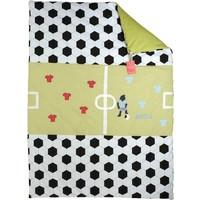 Krabbeldecke, Namensdecke , Decke mit Namen für echte Fussballer, Fussballdecke