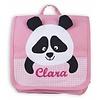crêpes suzette Kindergartentasche / Rucksack mit Namen bestickt. Panda, Farbe: Rosa
