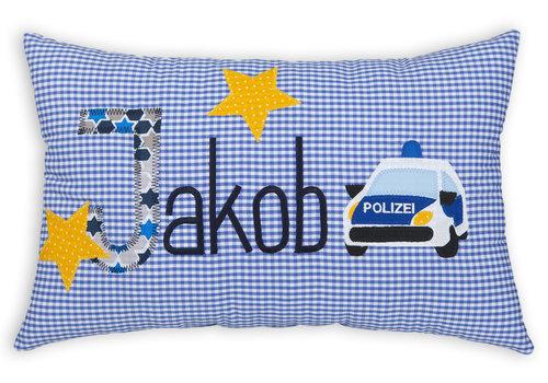 crêpes suzette crêpes suzette Namenskissen - Polizei