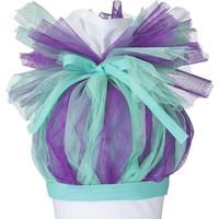 Tüll für Schultüte, Stoffschultüte Tüll, Farbe: Mint, Lila
