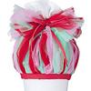 crêpes suzette Tüll für Schultüte, Stoffschultüte Tüll, Farbe:  Rosa, Rot, Mint