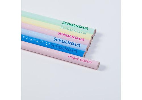 crêpes suzette Schulkind - Bleistift, Geschenk zur Einschulung