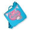 crêpes suzette Kindergartentasche wandelbar zum Rucksack mit Namen bestickt. Nilpferd