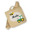 crêpes suzette Kindergartentasche wandelbar zum Rucksack mit Namen bestickt Motiv: Traktor