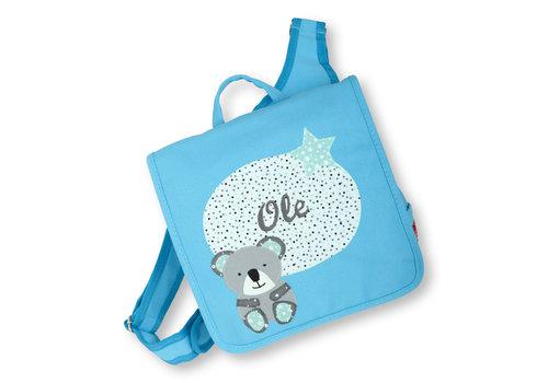 crêpes suzette crêpes suzette Kindergartentasche mit Namen bestickt - zum Kinderrucksack wandelbar. Koala