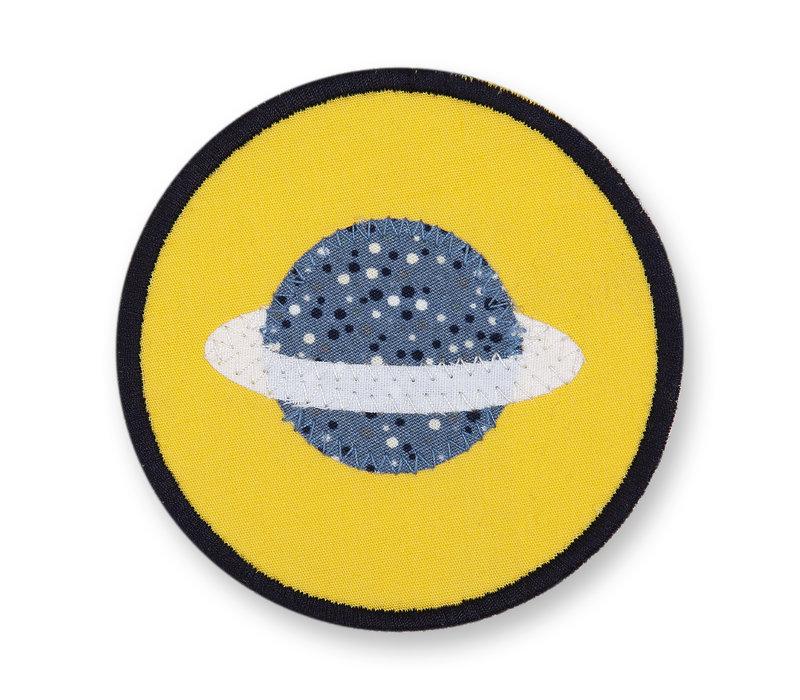 Klett Motiv aus Stoff für Schulranzen, Motiv : Space, creppies , Einfach den Ranzen stylen