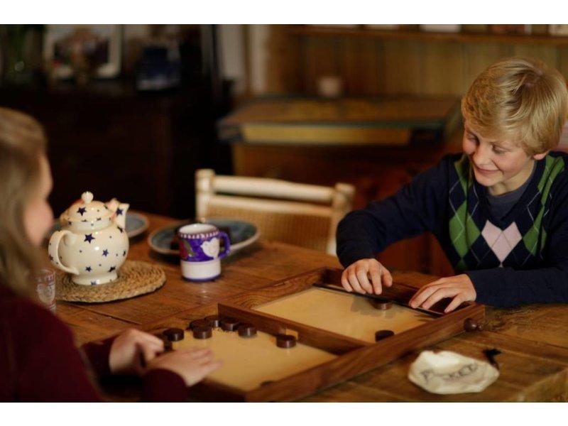 Lumbr Pucket | Houten bordspel