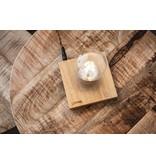 Lumbr Lumbr Air | Zwevende lamp met eiken houten basis