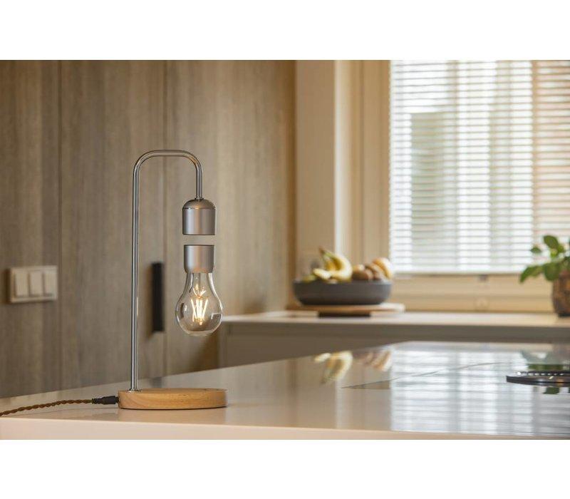 Air | Zwevende hanglamp met eikenhouten basis
