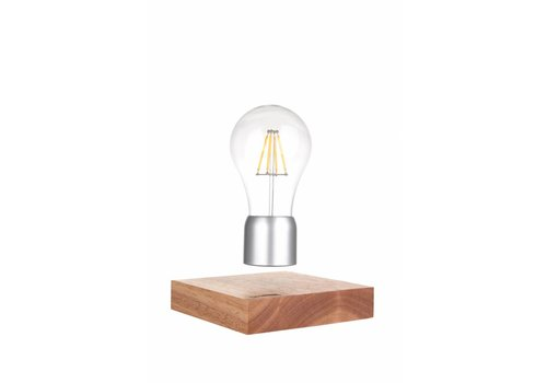 Lumbr Air | Levitating lamp with oak wooden base