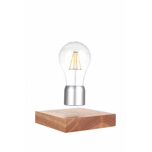 Lumbr Air | Zwevende designlamp met eiken houten basis