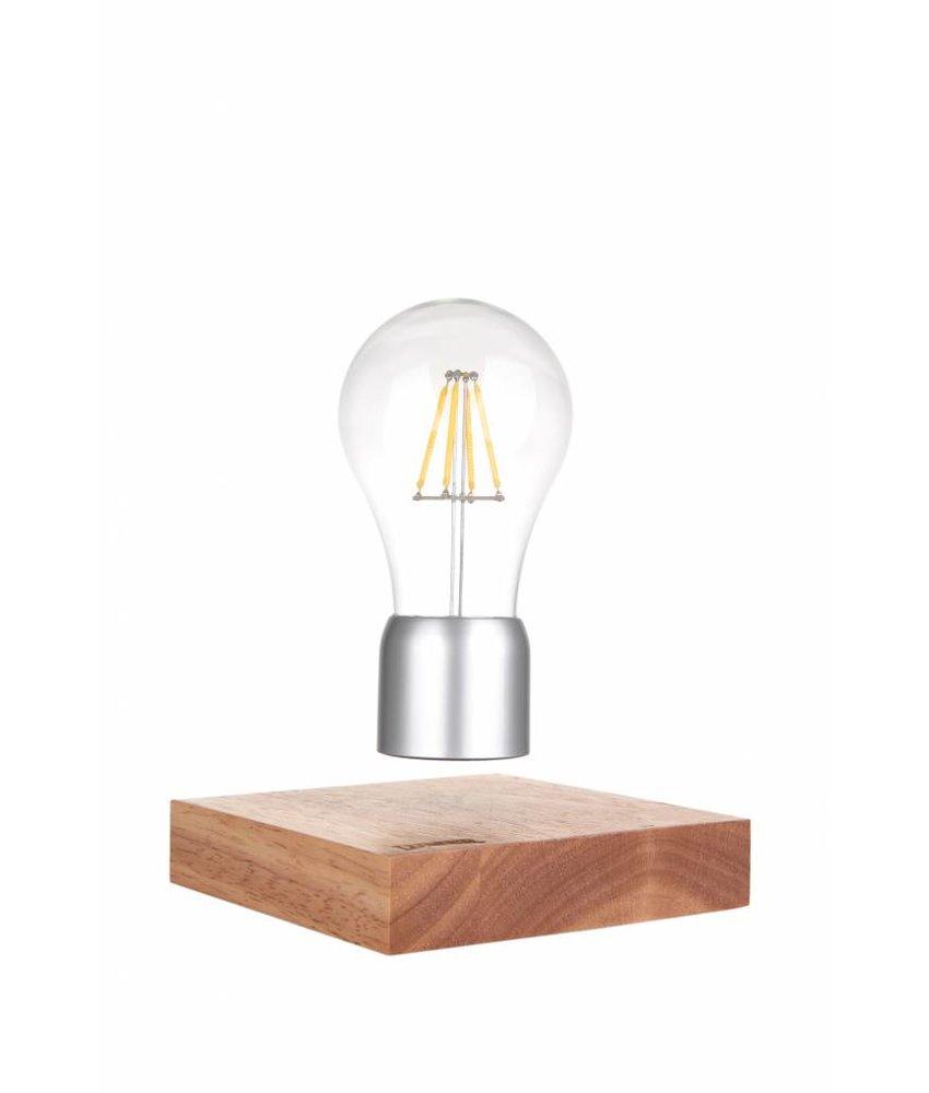 Lumbr Air | Levitating lamp with oak wooden base