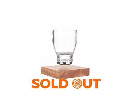 Lumbr Air | Zwevend glas voor houten base