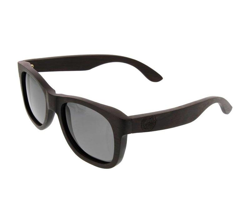 Shine Sonnenbrille aus Walnuss holz