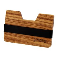 Wooden Wallet BØRS (Zebra wood)
