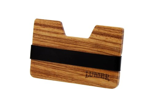 Lumbr Wooden Wallet BØRS (Zebra wood)