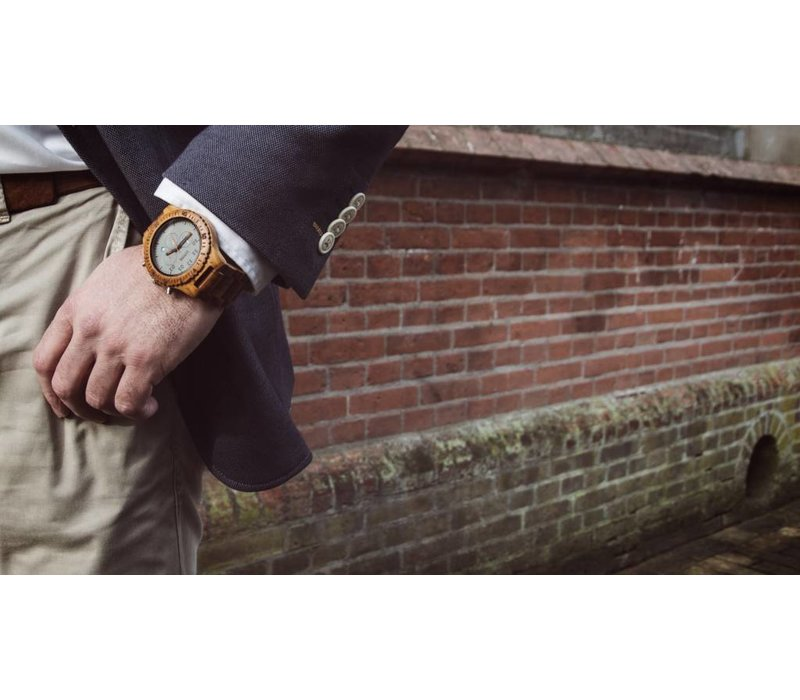 Wooden Watch Chrono Teak