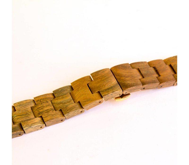 Aurora Holz Uhr Green Matt Sandel