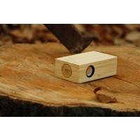 Beatblok Bamboe - Houten inductie speaker voor mobiel
