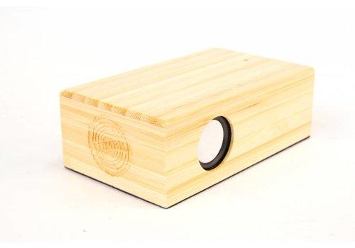 Lumbr BeatBlok Bambus Lautsprecher